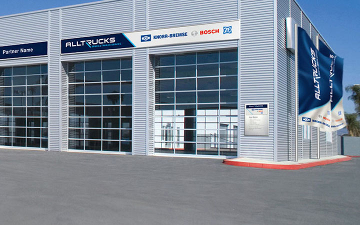 Alltrucks authorised repair shop